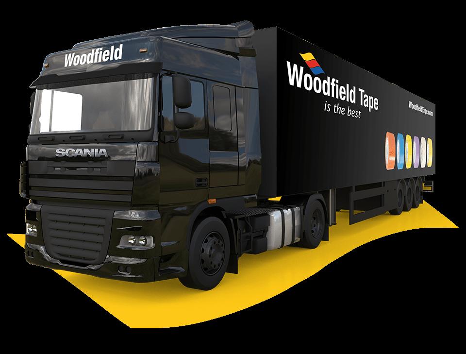 Woodfield bezorgservice in heel de benelux
