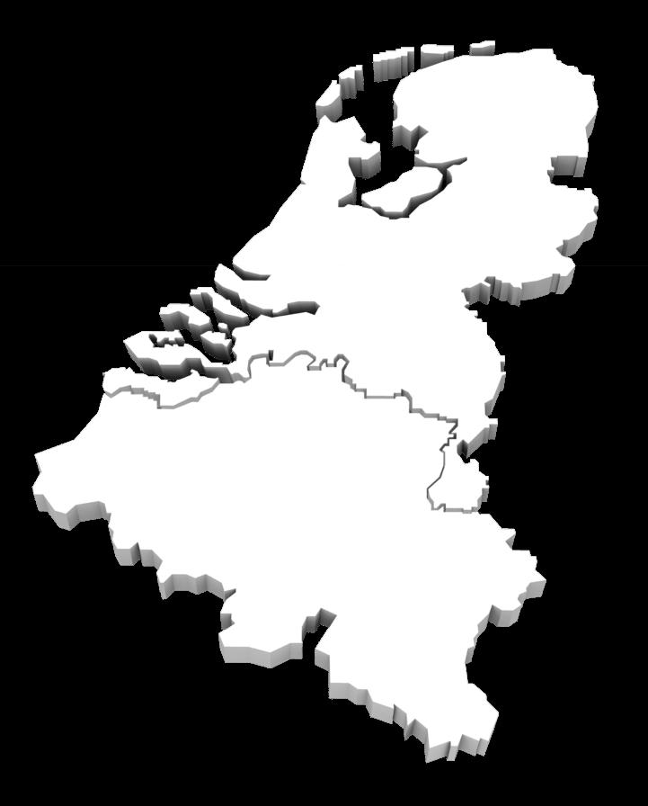 Dealers Benelux kaartje Woodfield