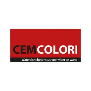 Logo Cemcolori stucmaterialen Woodfield
