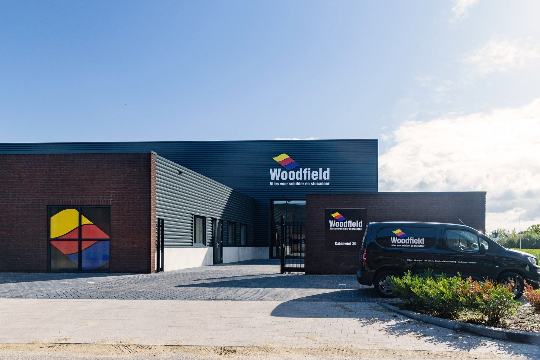 Pand Woodfield Tilburg