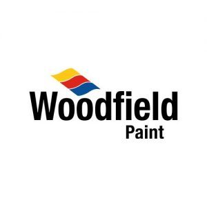 Logo Woodfield verf