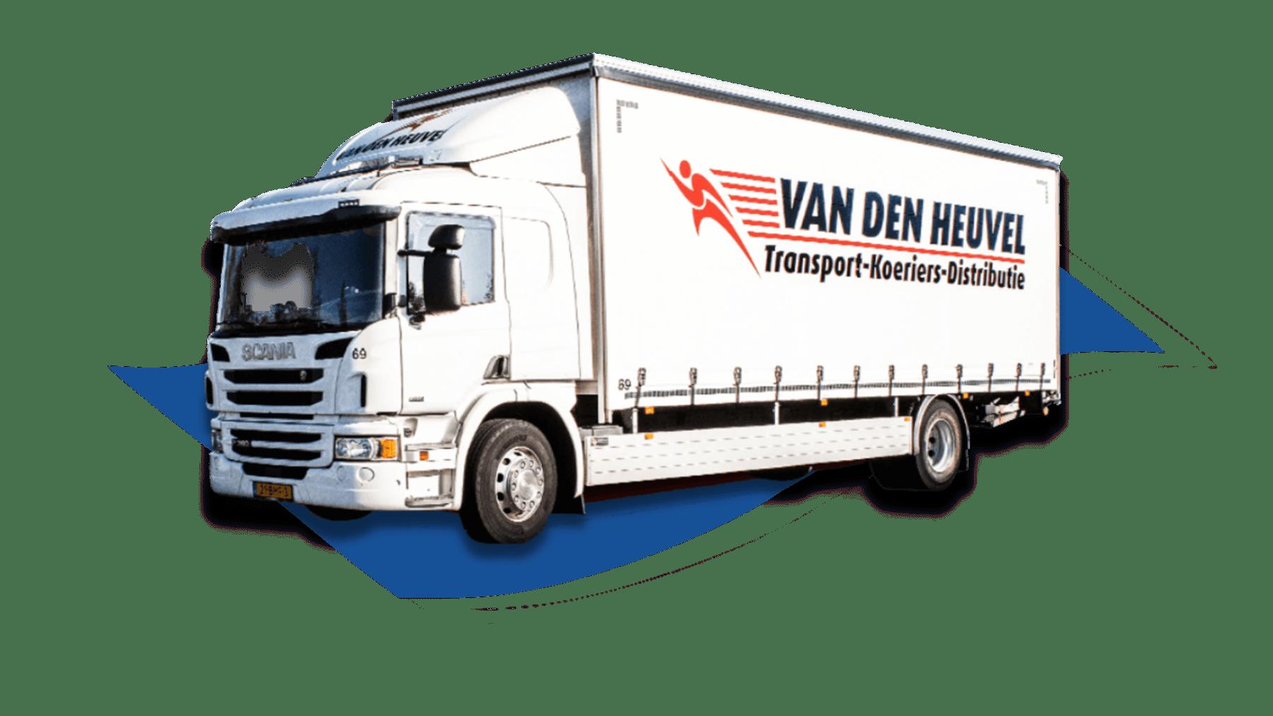 Vrachtwagen vd Heuvel Woodfield