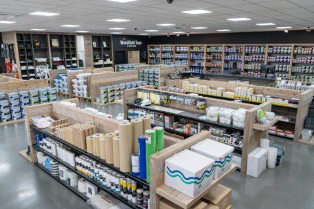 Woodfield Den Bosch header met producten